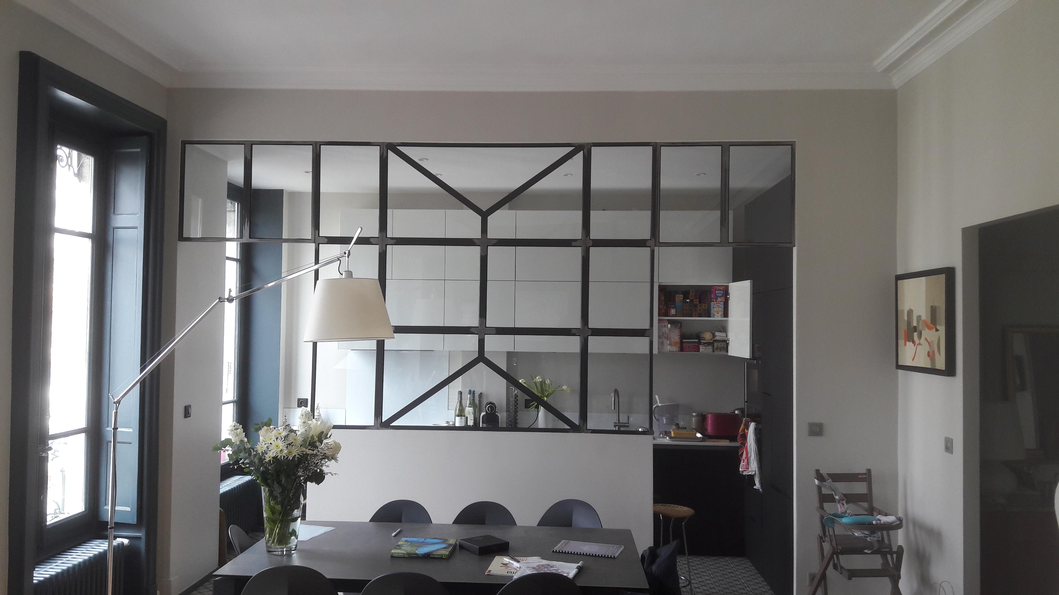 lyonnaise de décoration - ouverture salle de vie