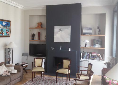 lyonnaise de décoration - cheminée