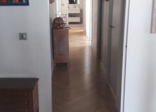 lyonnaise de décoration - peinture couloir